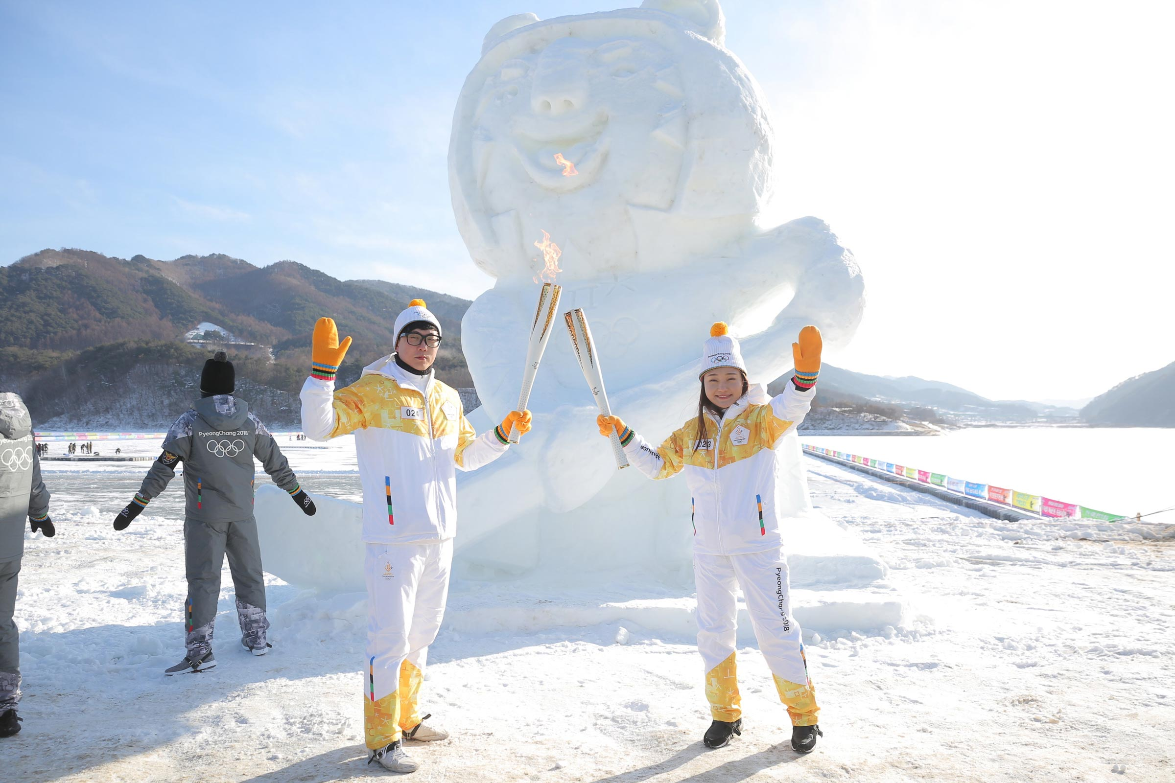 PyeongChang 2018 Olympic Torch Relay - Day 86