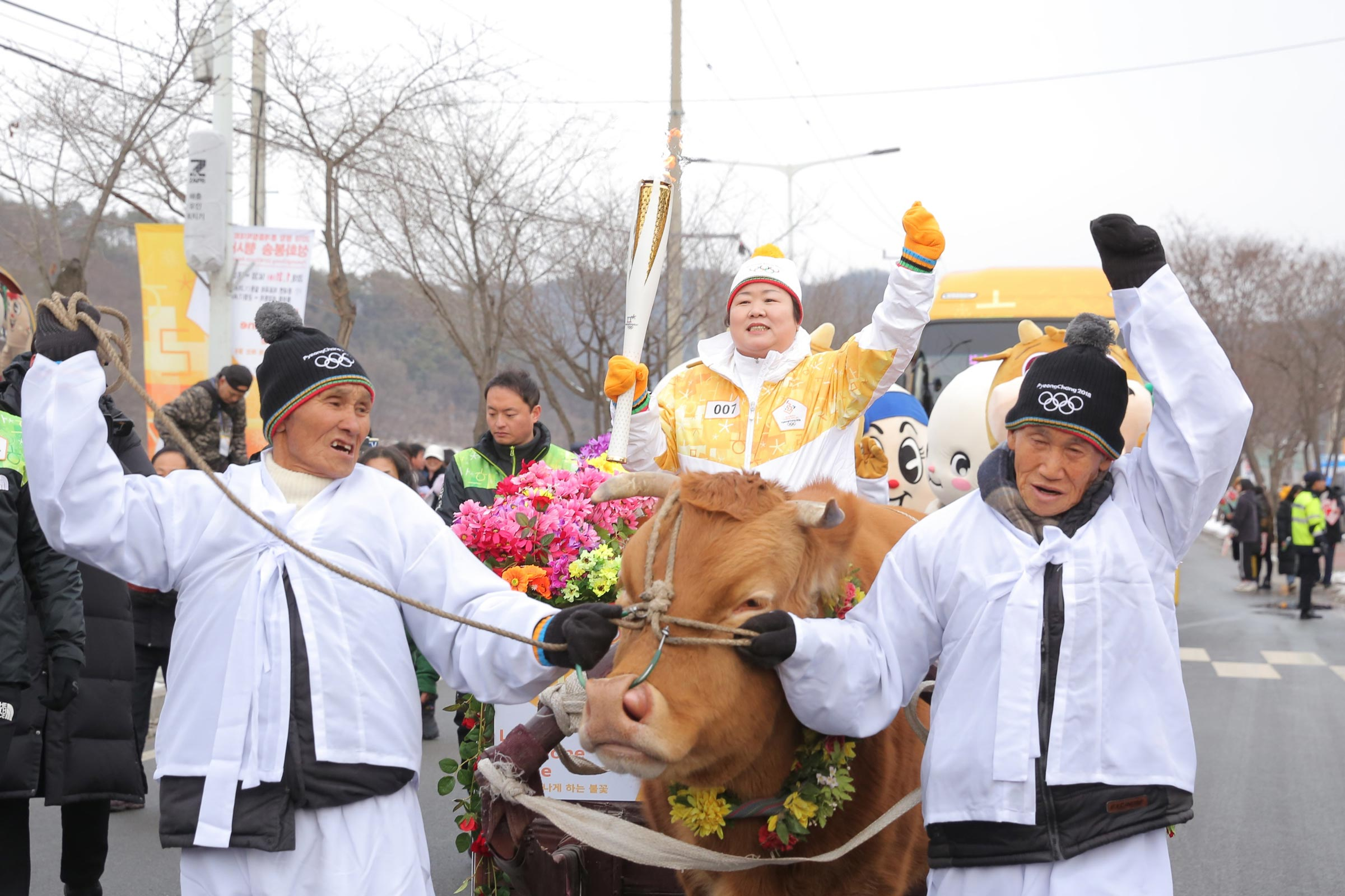 PyeongChang 2018 Olympic Torch Relay - Day 92