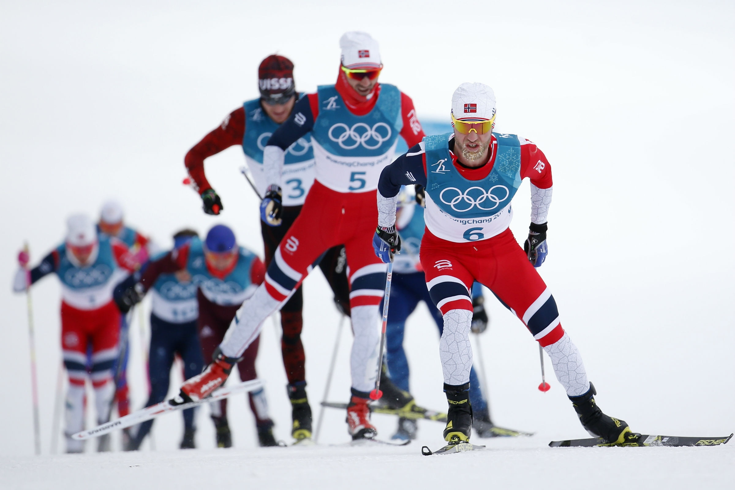 Cross-country Skiing - Men's 15km + 15km Skiathlon