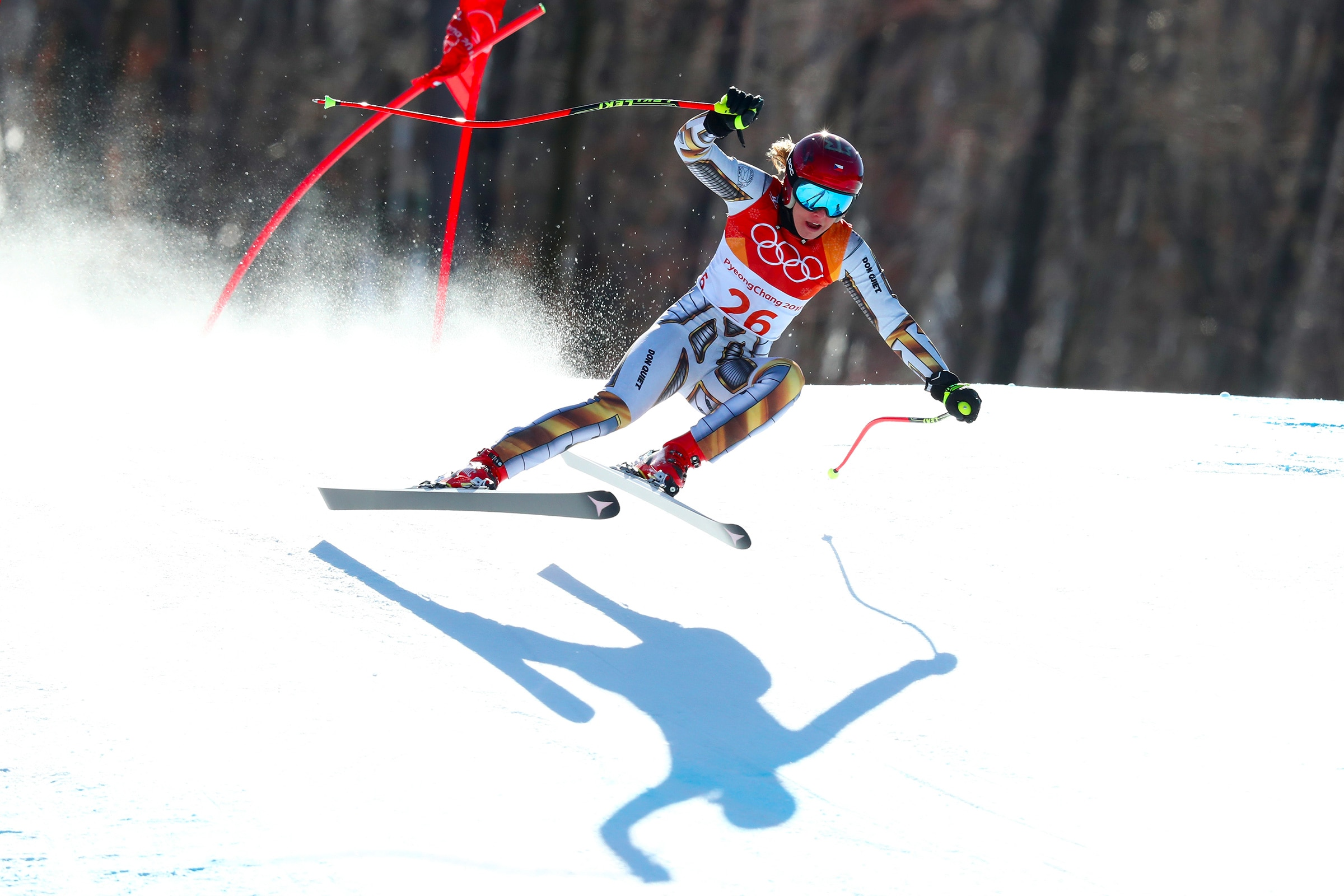 Alpine Skiing - Ladies' Super-G
