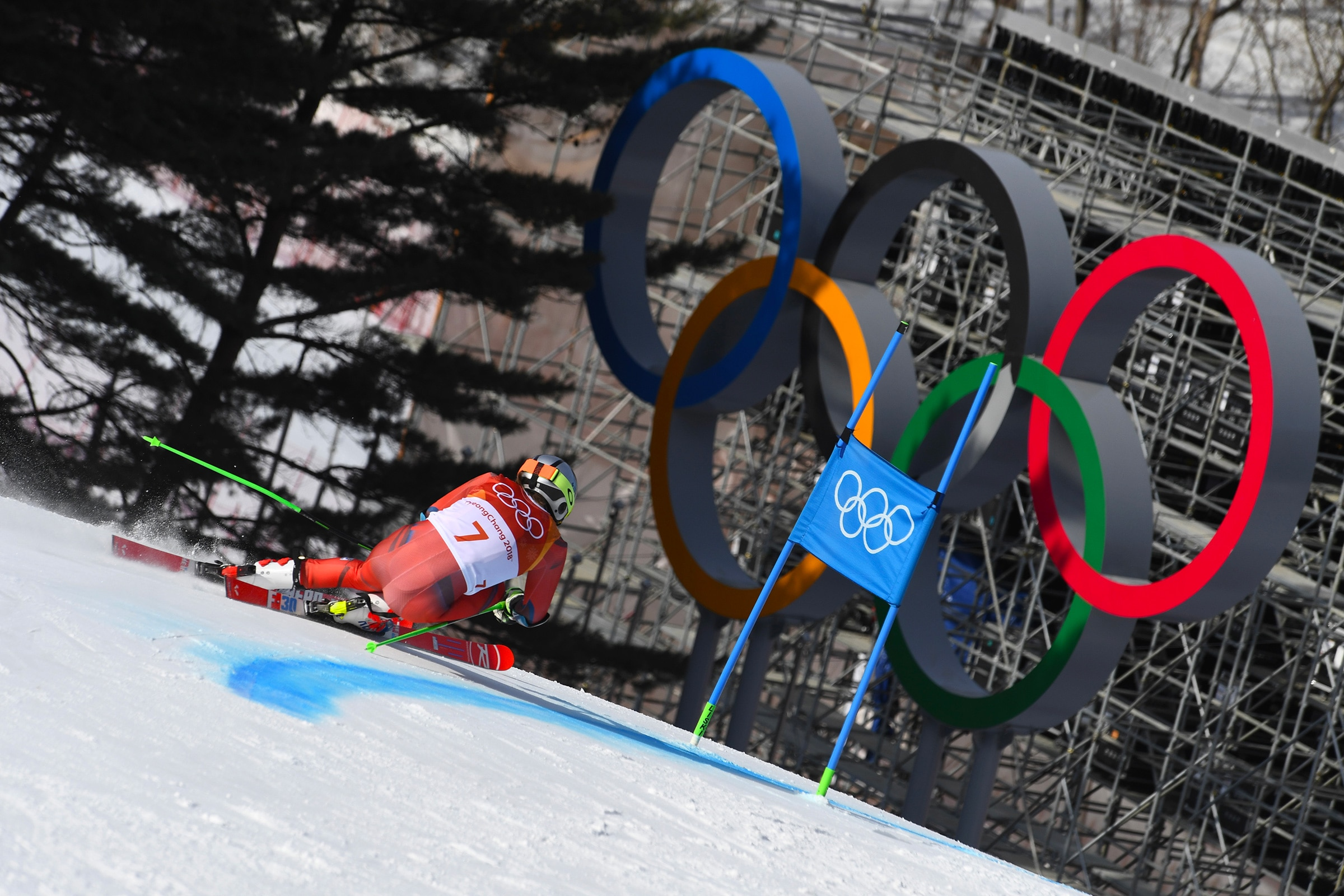 Alpine Skiing - Men's Giant Slalom