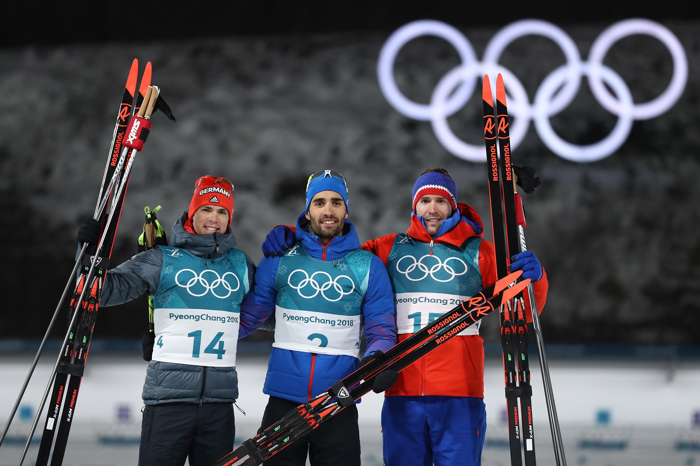 Biathlon - Men's 15km Mass Start