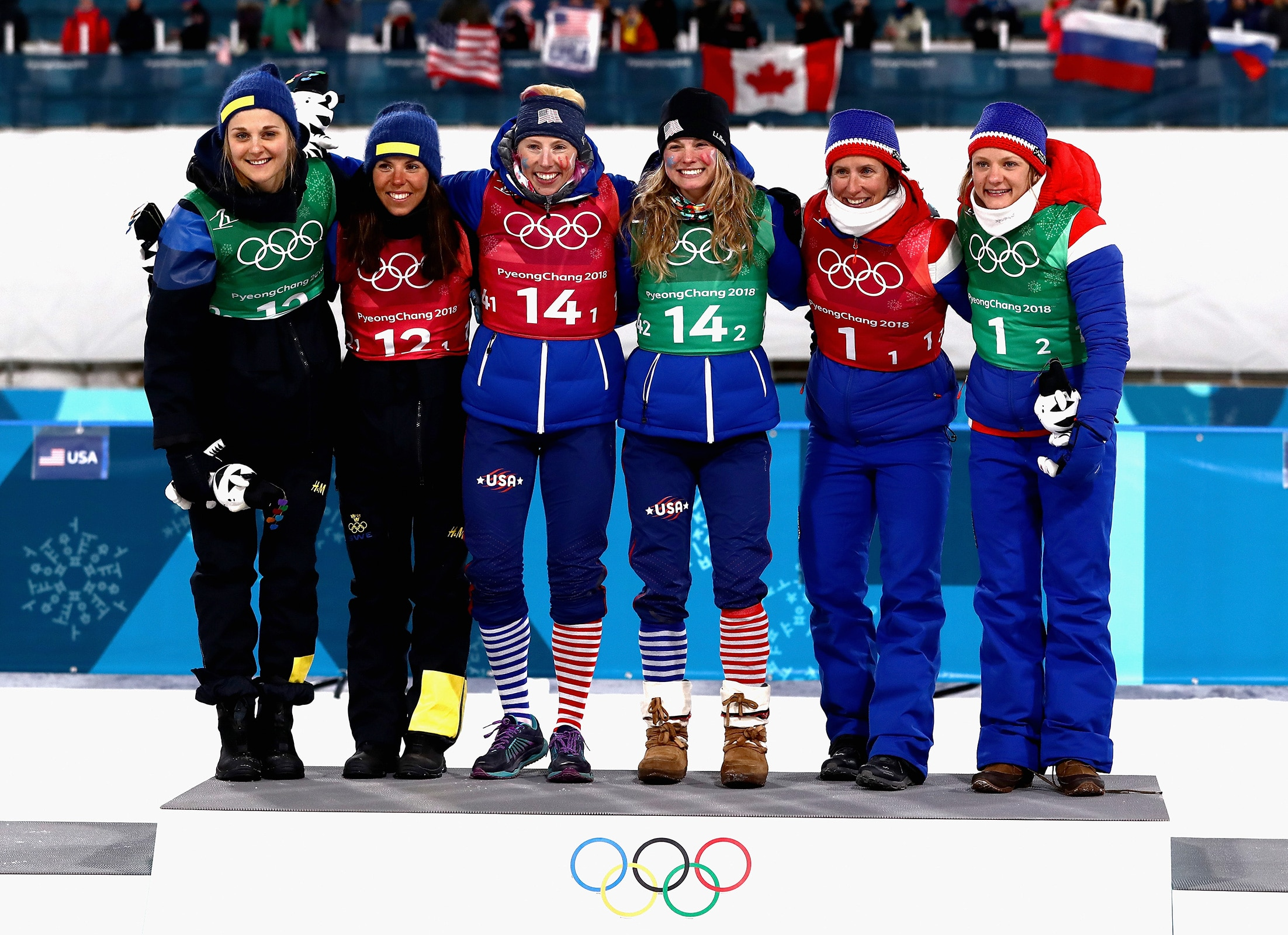 Cross-Country Skiing - Ladies' Team Sprint Free