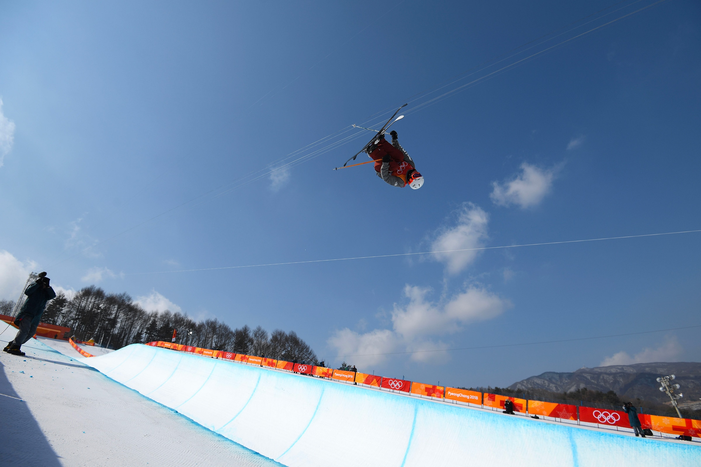 Freestyle Skiing - Men's Ski Halfpipe