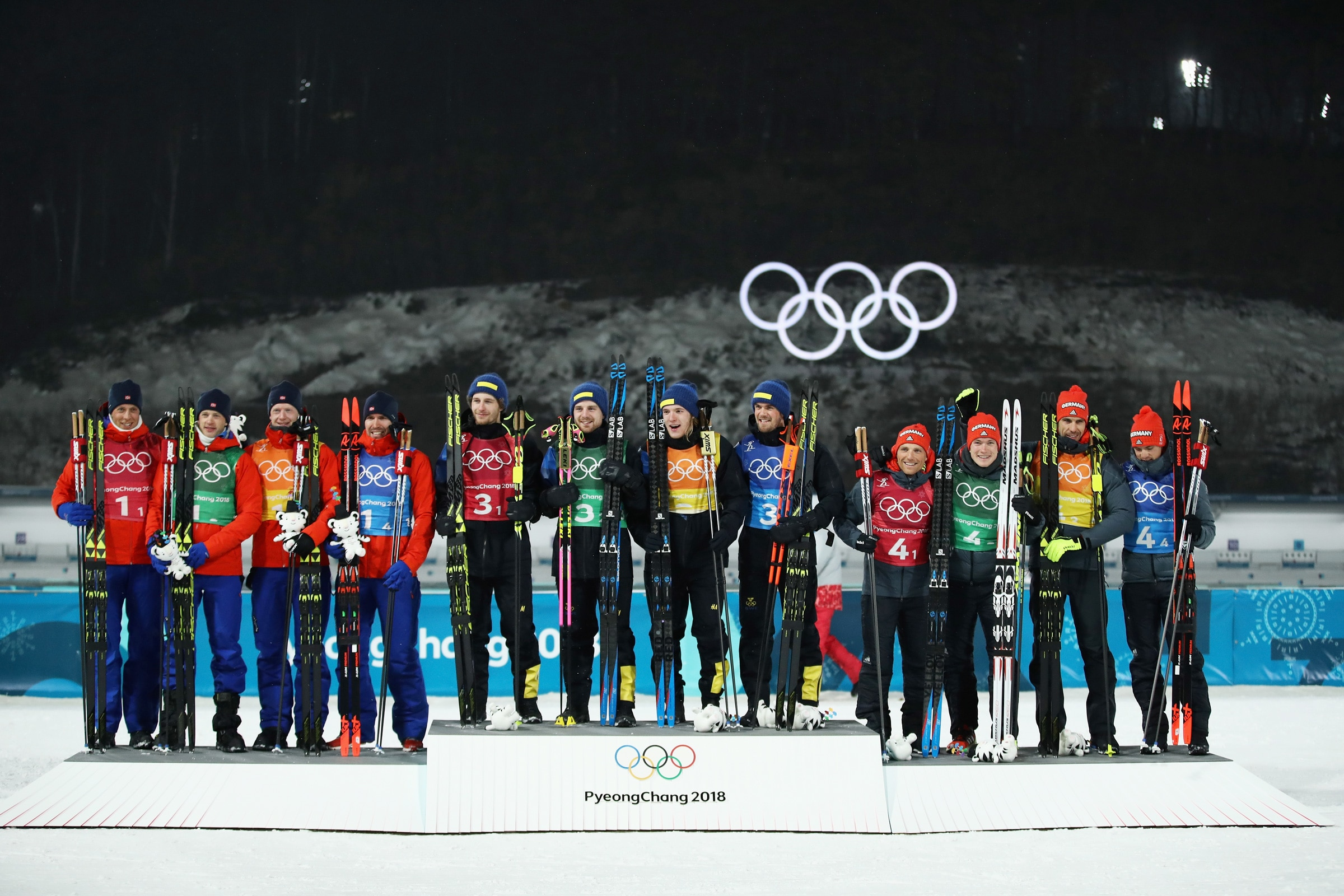 Biathlon - Men's 4x7.5km Relay