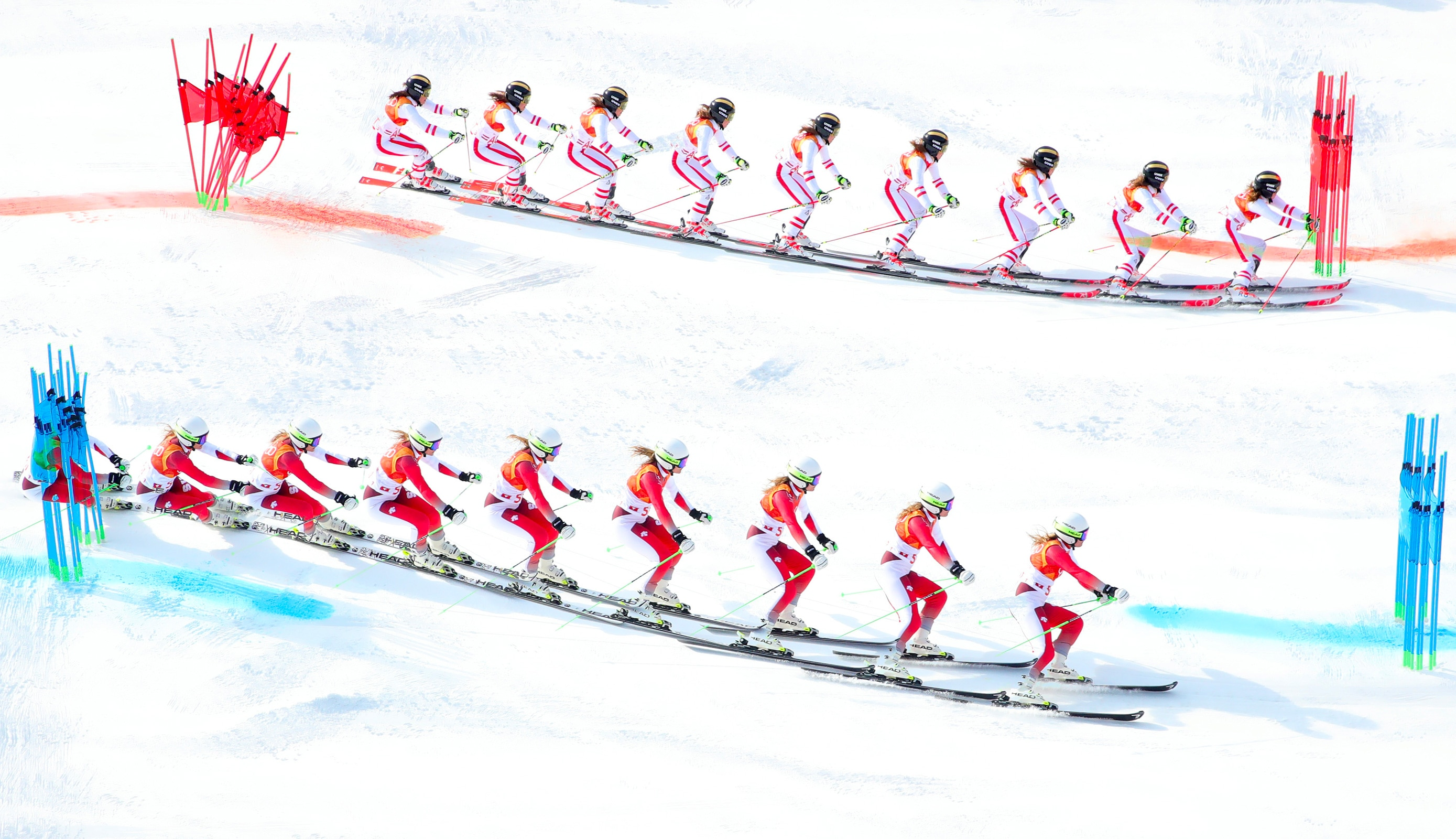 Alpine Skiing - Alpine Team Event