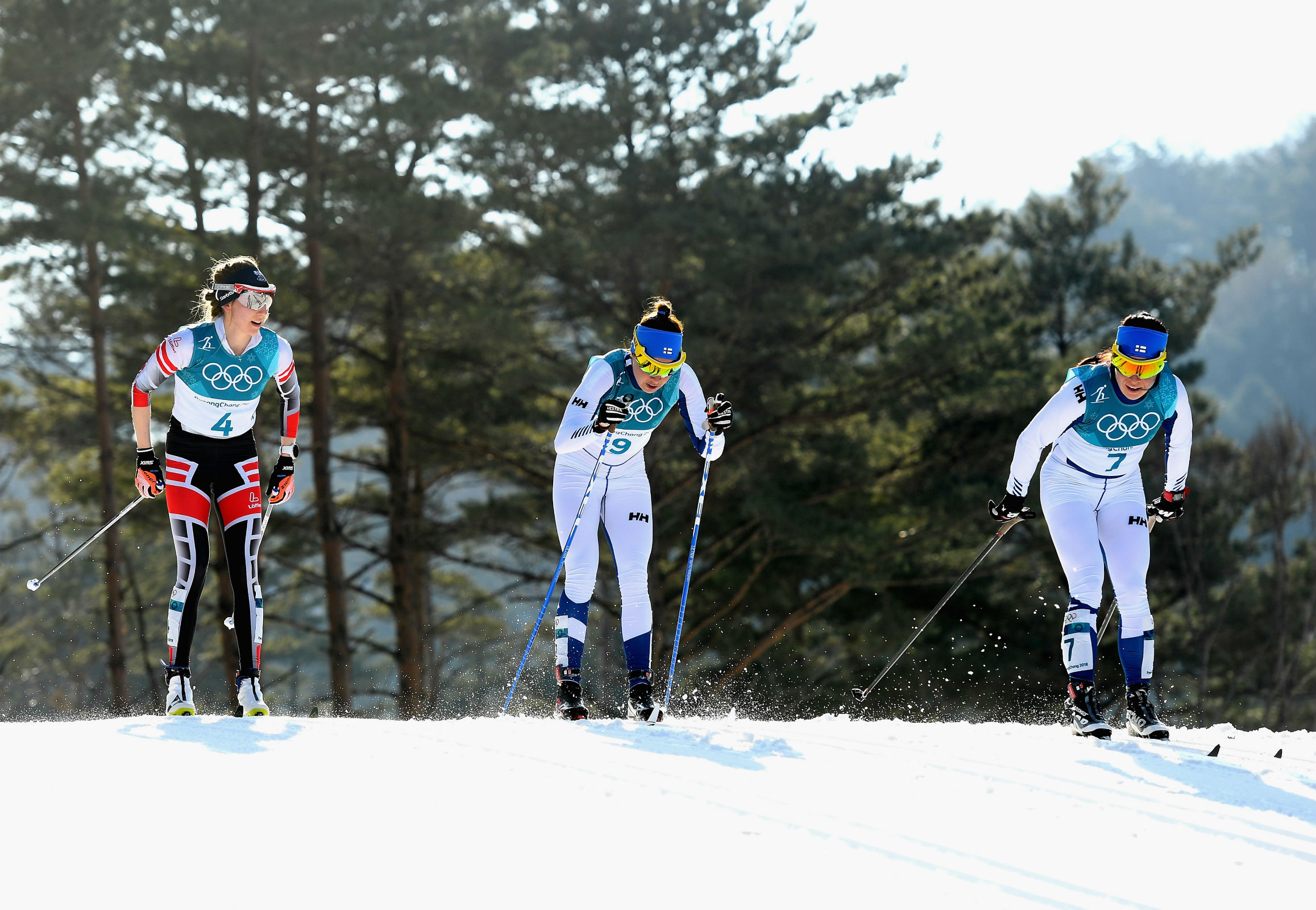 Cross-Country Skiing - Ladies' 30km Mass Start