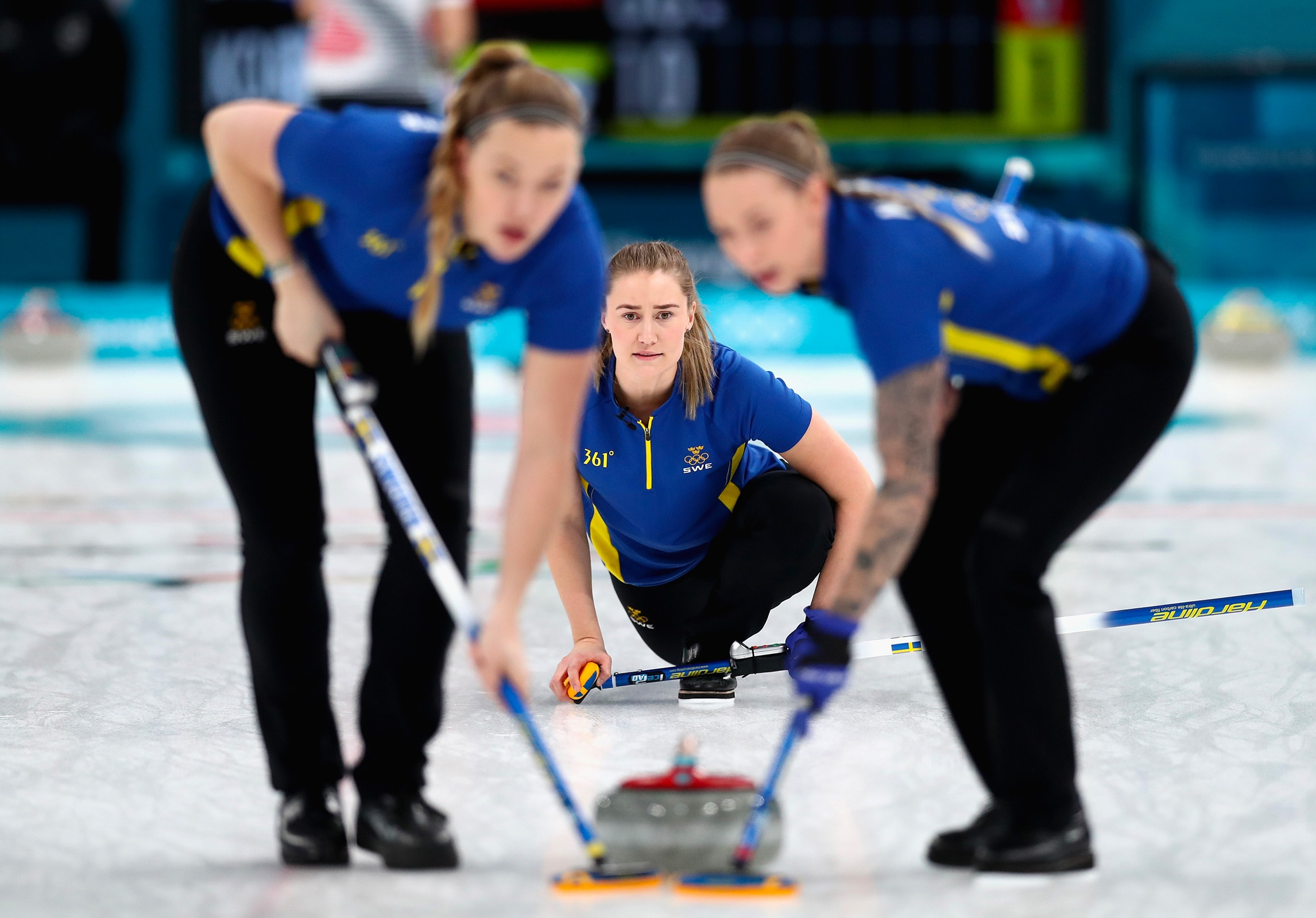 Curling - Women gold medal game