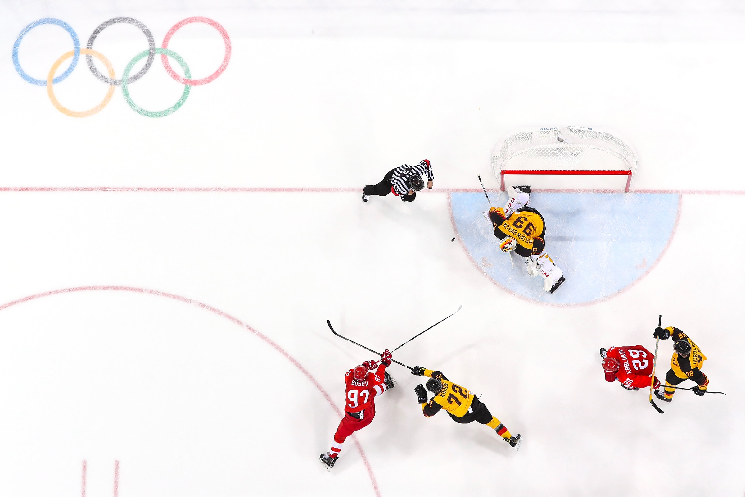 Hockey sur Glace - Hommes match médaille d'or
