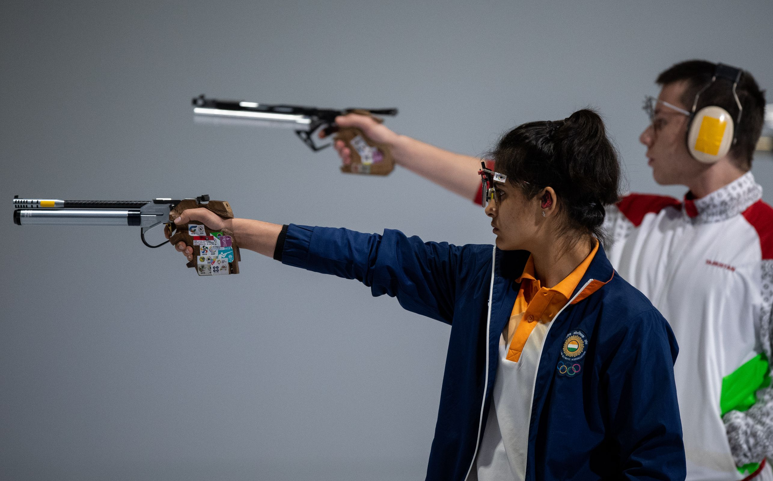 Buenos Aires 2018 - Shooting - 10m Air Pistol Mixed International Team