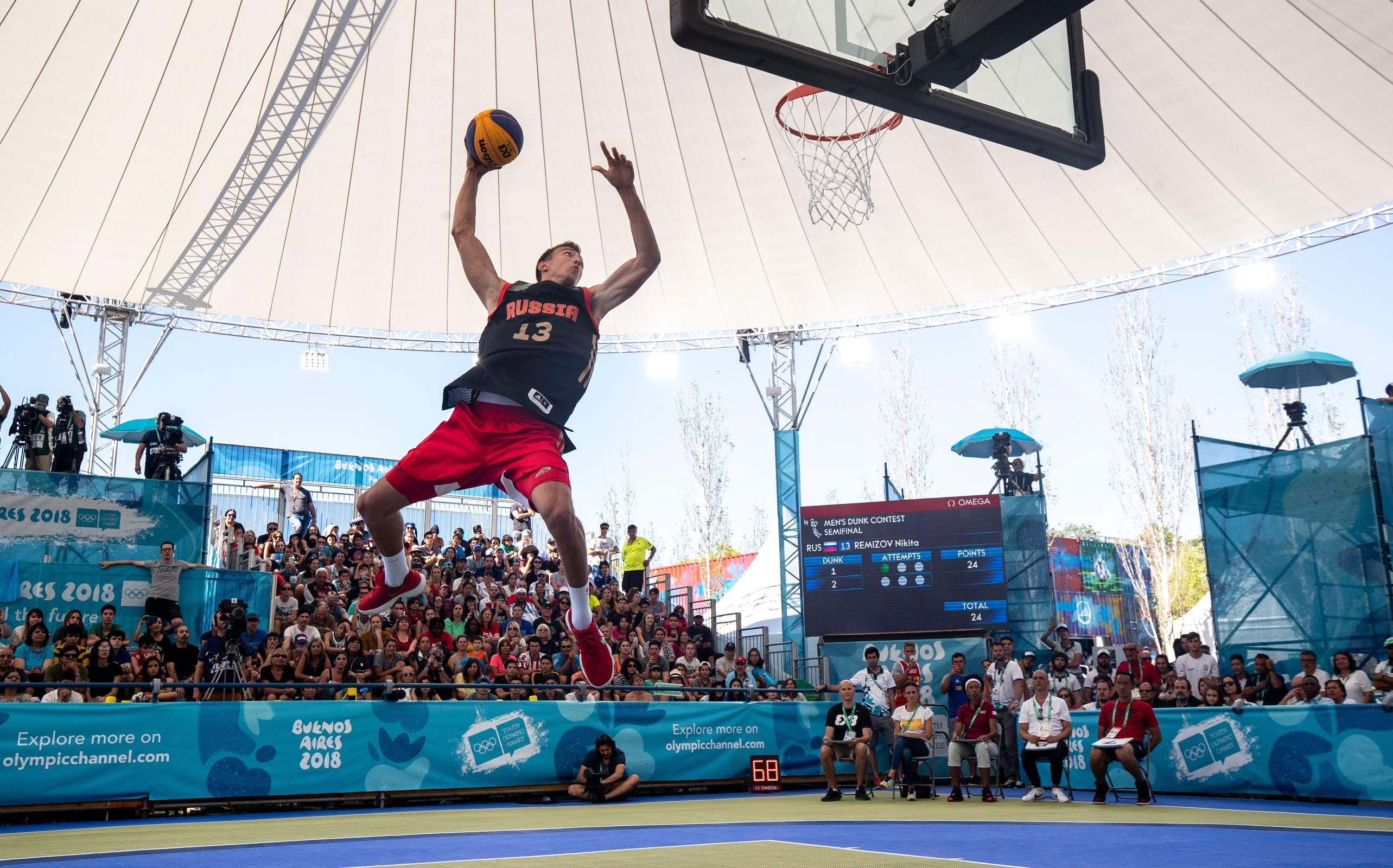 Buenos Aires 2018 - Basketball 3x3 - Men's Dunk Contest