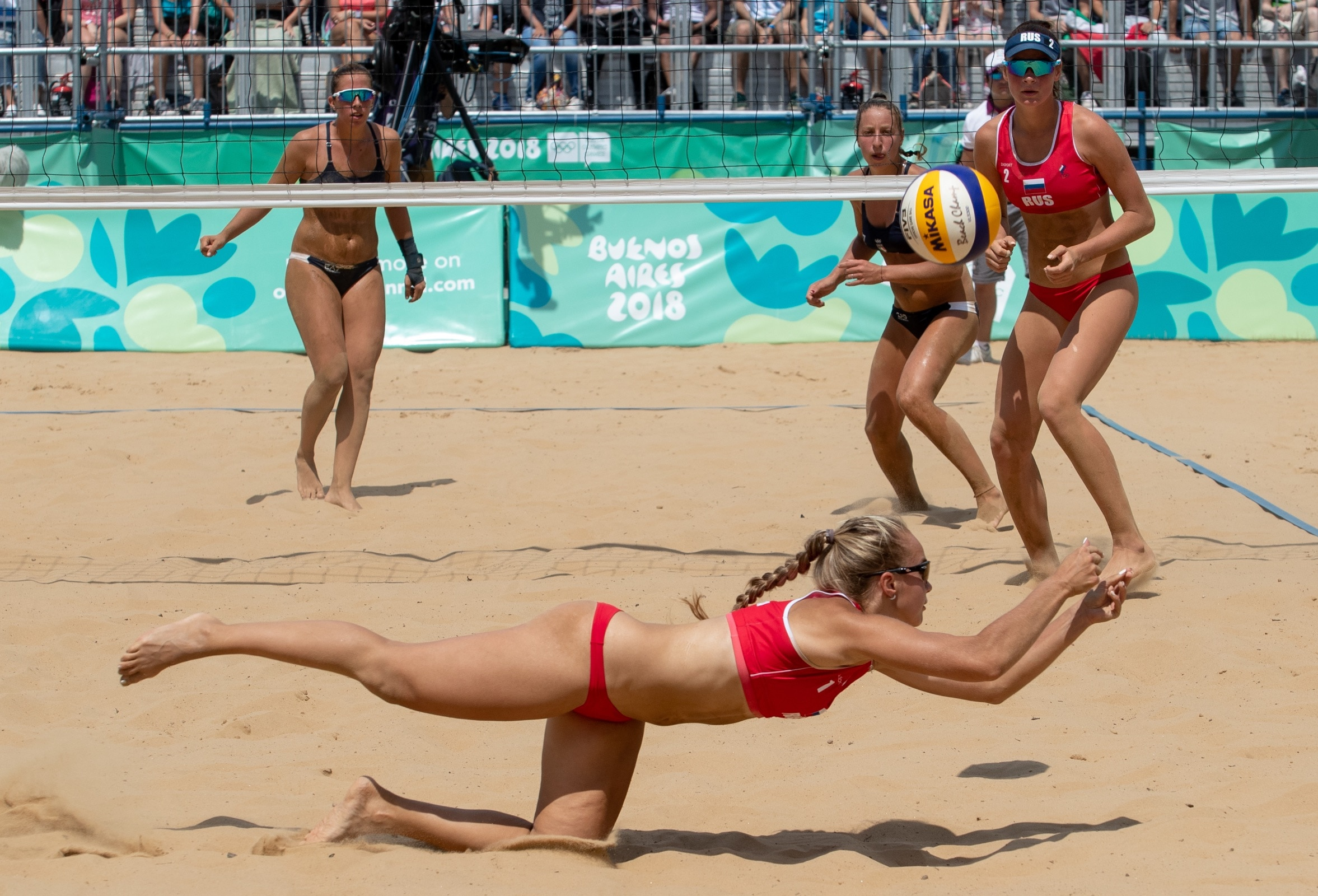 Buenos Aires 2018 - Beach Volleyball - Women's Tournament