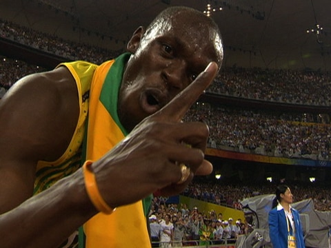 Usain Bolt Wins 3 Sprinting Events in WR Time