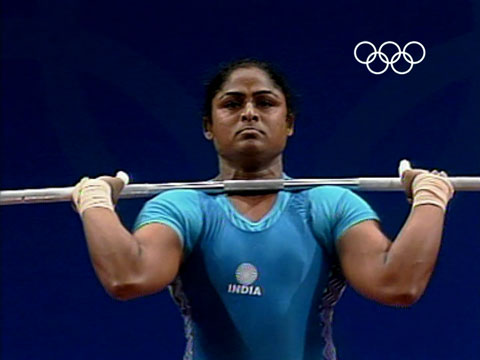 India's first woman to win an Olympic medal – Karnam Malleswari –  Weightlifiting