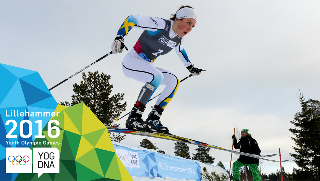 Moa Lundgren wins Ladies' Cross-Country Cross Free gold