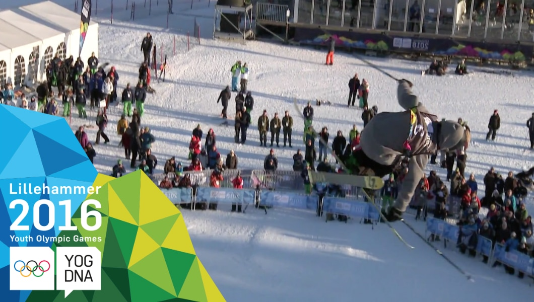 Birk Iving (USA) médaille d'or Ski acrobatique- Half Pipe hommes - ​Lillehammer 2016 ​Youth Olympic Games​
