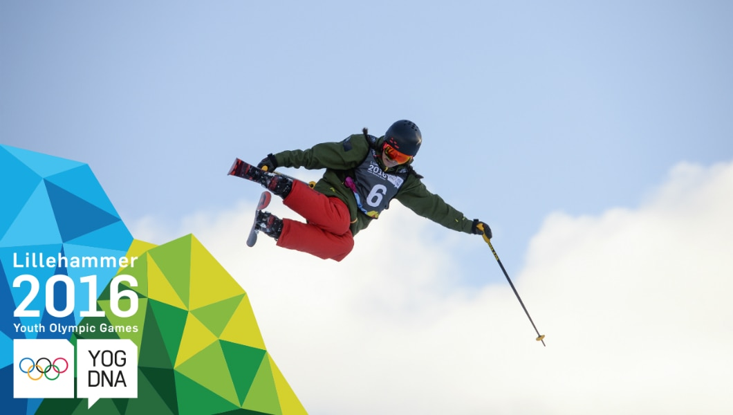 Madison Rowlands (GBR) médaille d'or Ski acrobatique- Half Pipe femmes - ​Lillehammer 2016 ​Youth Olympic Games​