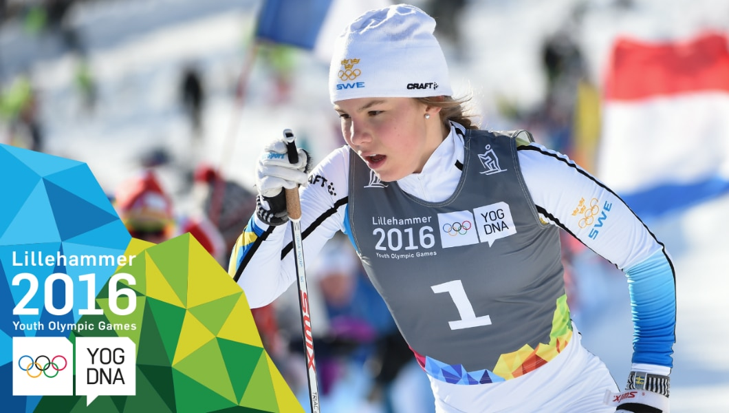 Cross-Country Skiing - Johanna Hagstroem (SWE) wins Ladies' Sprint Gold | Lillehammer 2016 Youth Olympic Games