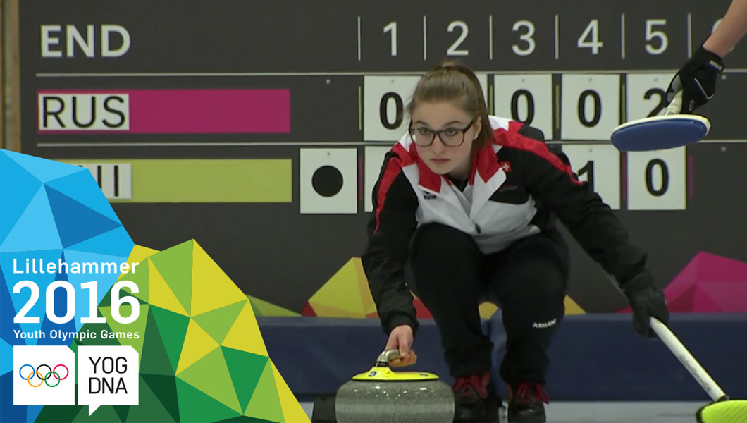Curling Mixed Team - Switzerland win bronze | Lillehammer 2016 Youth Olympic Games