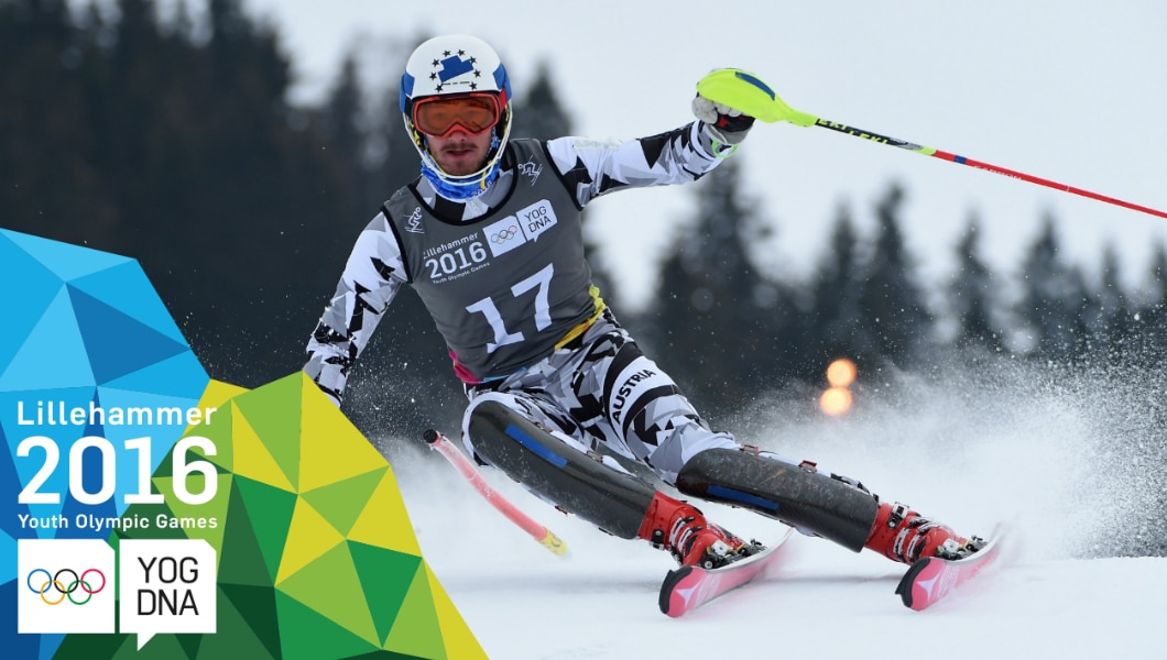 Slalom - Manuel Traninger (AUT) wins Men's Gold | Lillehammer 2016 Youth Olympic Games