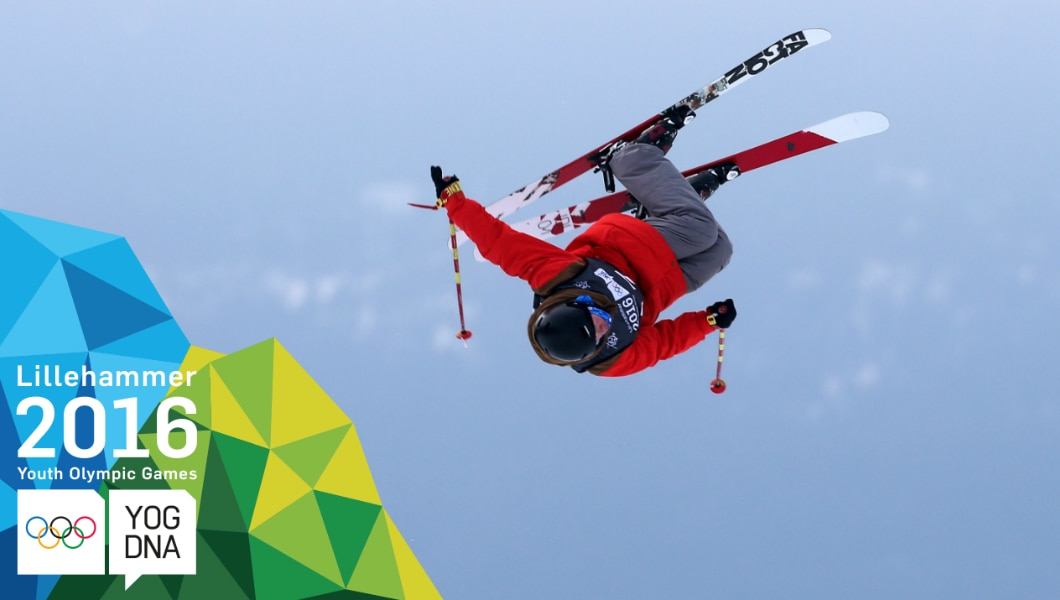 Birk Ruud (NOR) médaille d'or - Ski acrobatique - slopestyle hommes - Lillehammer 2016 Youth Olympic Games