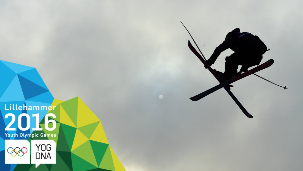 Lana Prusakova (RUS)  médaille d'or - Ski acrobatique - slopestyle femmes - Lillehammer 2016 Youth Olympic Games