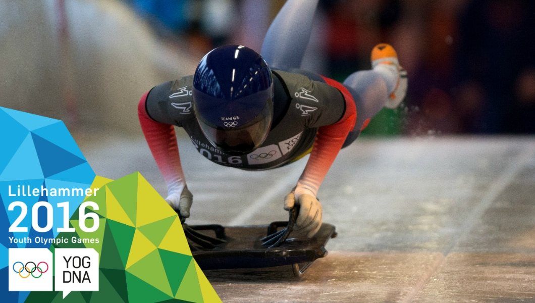 Skeleton - Ashleigh Fay Pittaway wins Women's Individual Gold | Lillehammer 2016 Youth Olympic Games
