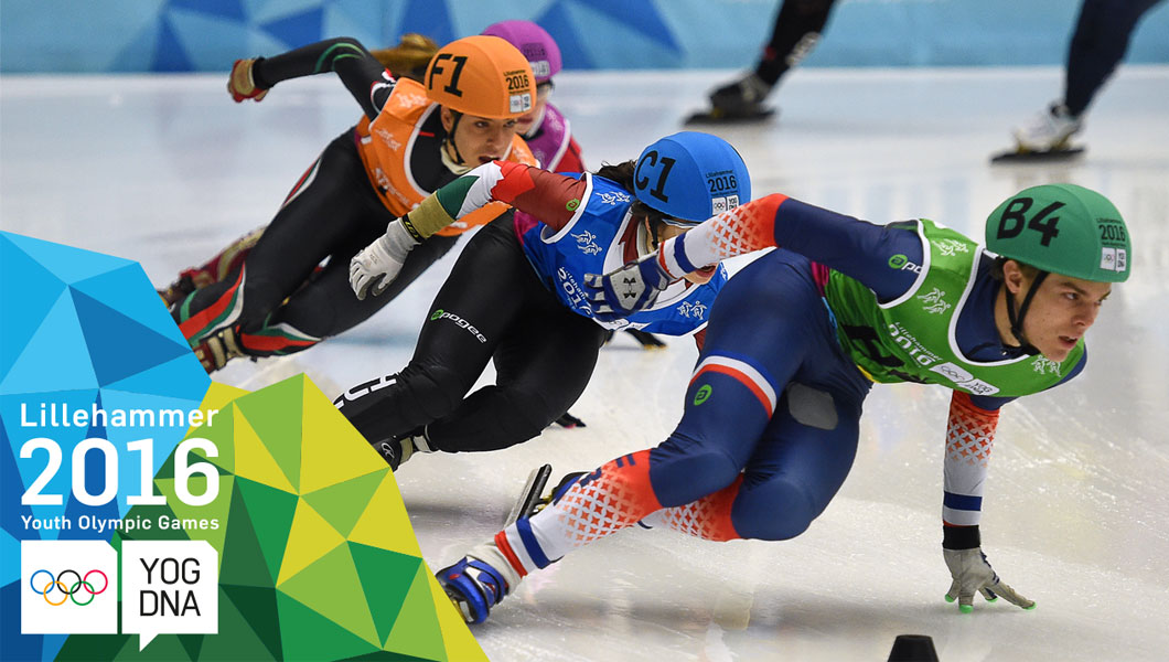 Short Track - Mixed NOC Team Relay | Lillehammer 2016 Youth Olympic Games