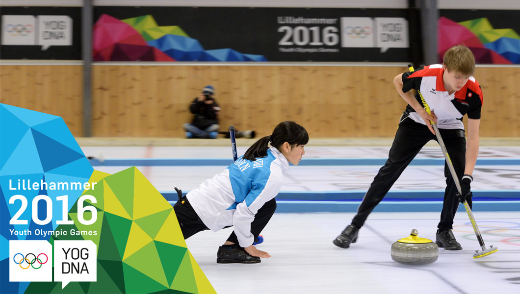 Curling compétition de double mixte multi-CNO demi-finales | Lillehammer 2016 Youth Olympic Games