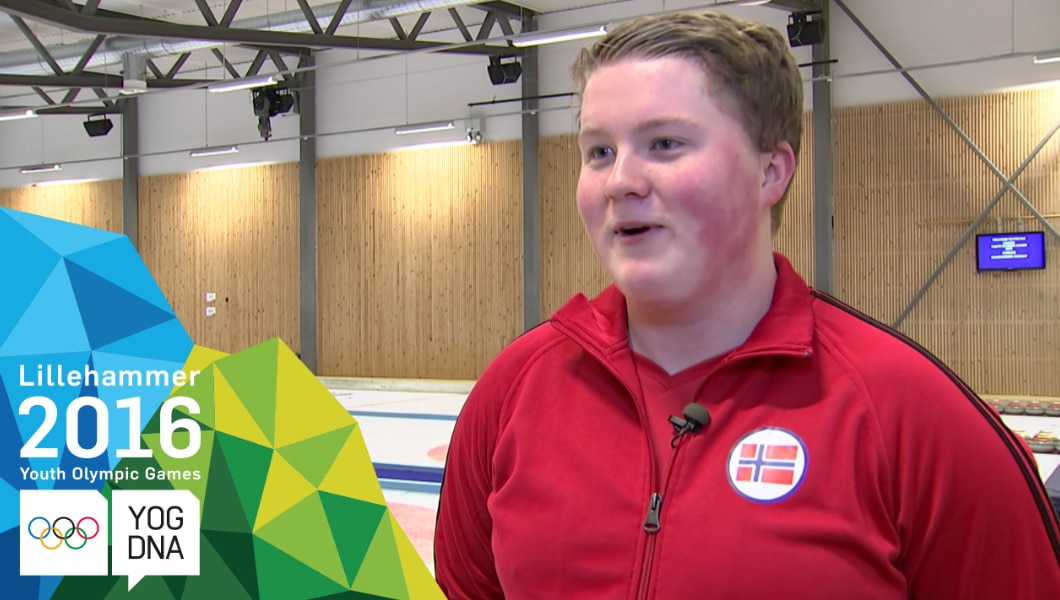 Profile Athlète JOJ - Andreas Haarstad - Lillehammer 2016 Youth Olympic Games