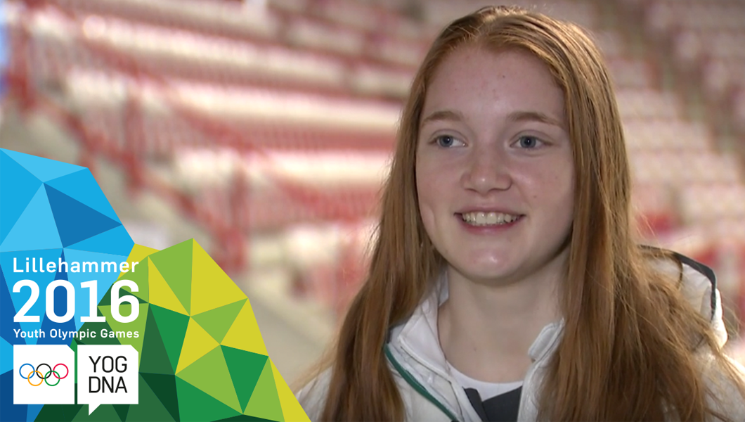 Profile Athlète JOJ - Julia Moore - Lillehammer 2016 Youth Olympic Games