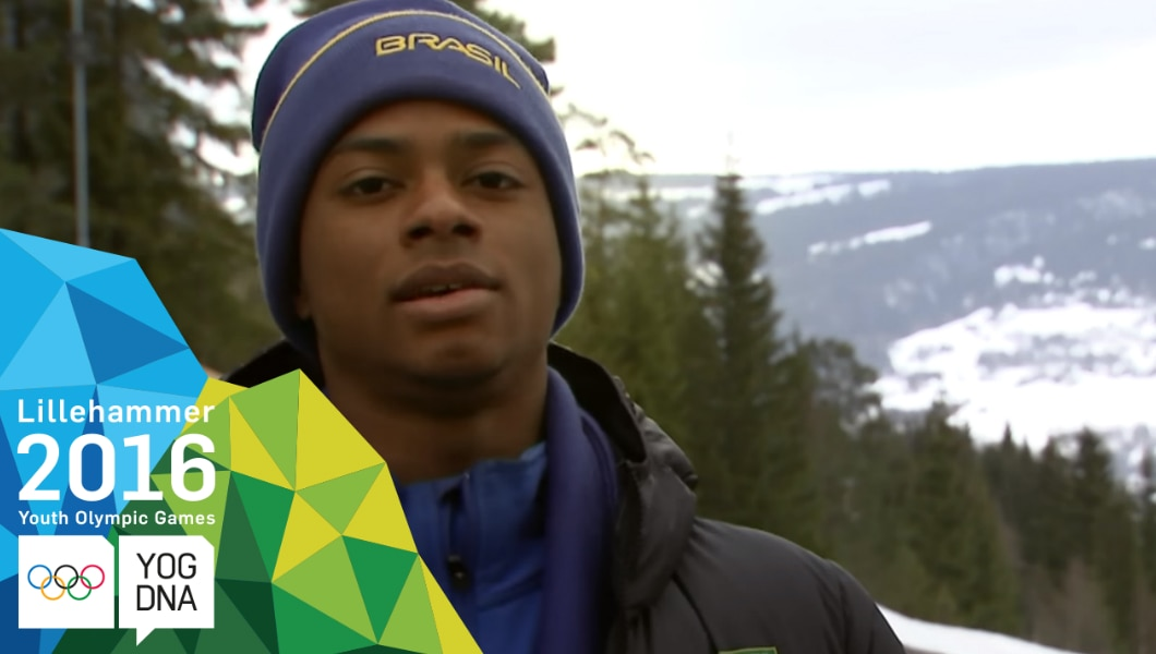 Profile Athlète JOJ - Robert Barbosa  - Lillehammer 2016 Youth Olympic Games