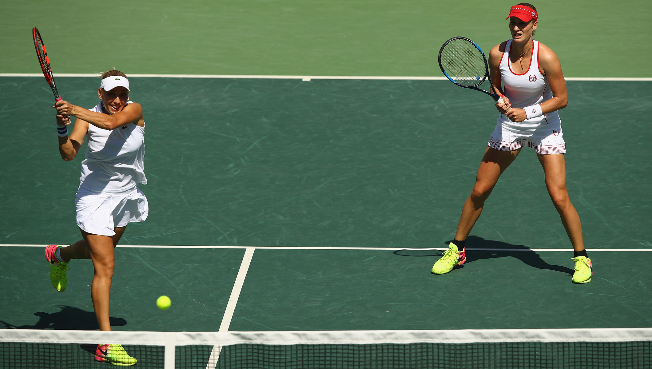 Women's doubles gold for Russians as US pair take mixed ...